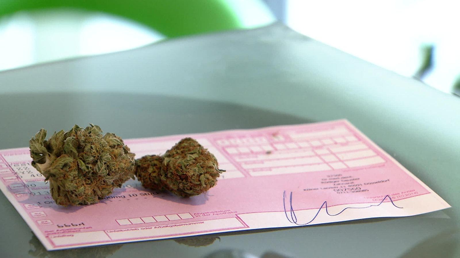 Cannabis auf Rezept: immer mehr Anträge