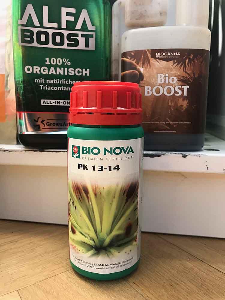 Nährstoffbedarf von Hanfpflanzen